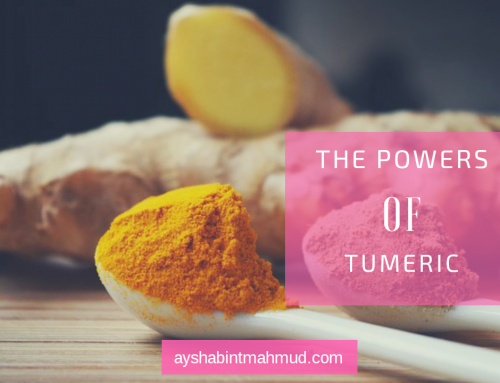 Tumeric is powerful