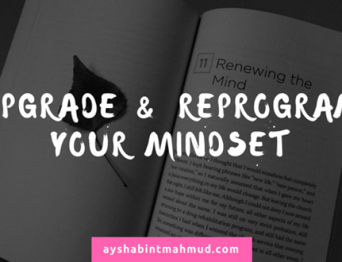 Upgrade & Reprogram your Mindset