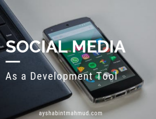 Social Media as a Development Tool