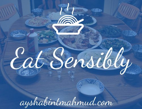 Learn to Eat Sensibly